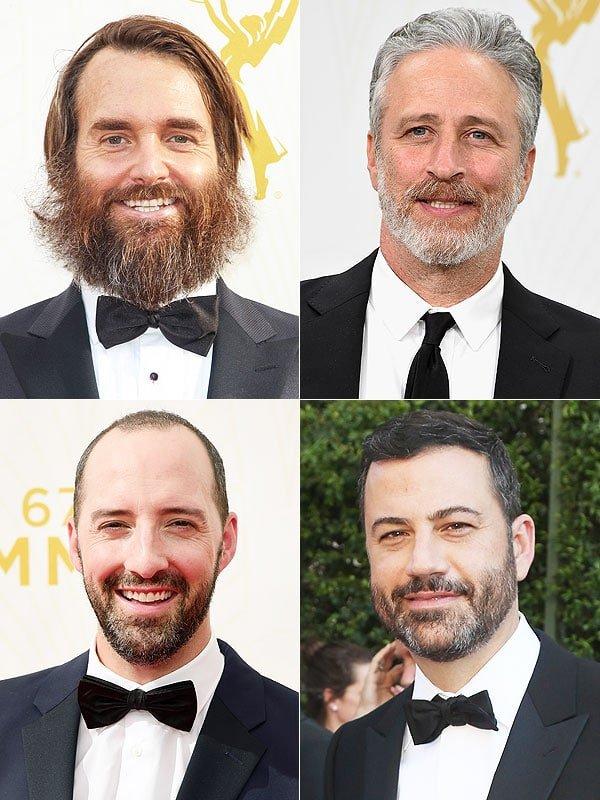 Os Melhores Looks Masculinos do Emmy 2015 Barbas