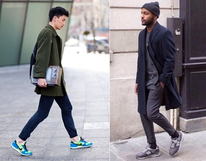 Tênis esportivos em looks masculinos casuais Homens que se cuidam 6