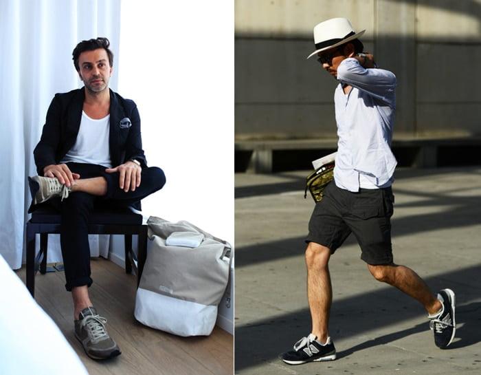 Tênis esportivos em looks masculinos casuais Homens que se cuidam 7