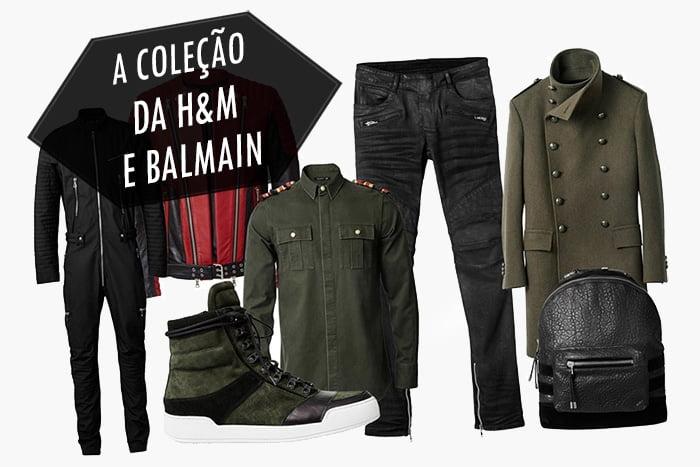 A coleção masculina da H&M e Balmain Homens que se cuidam 2