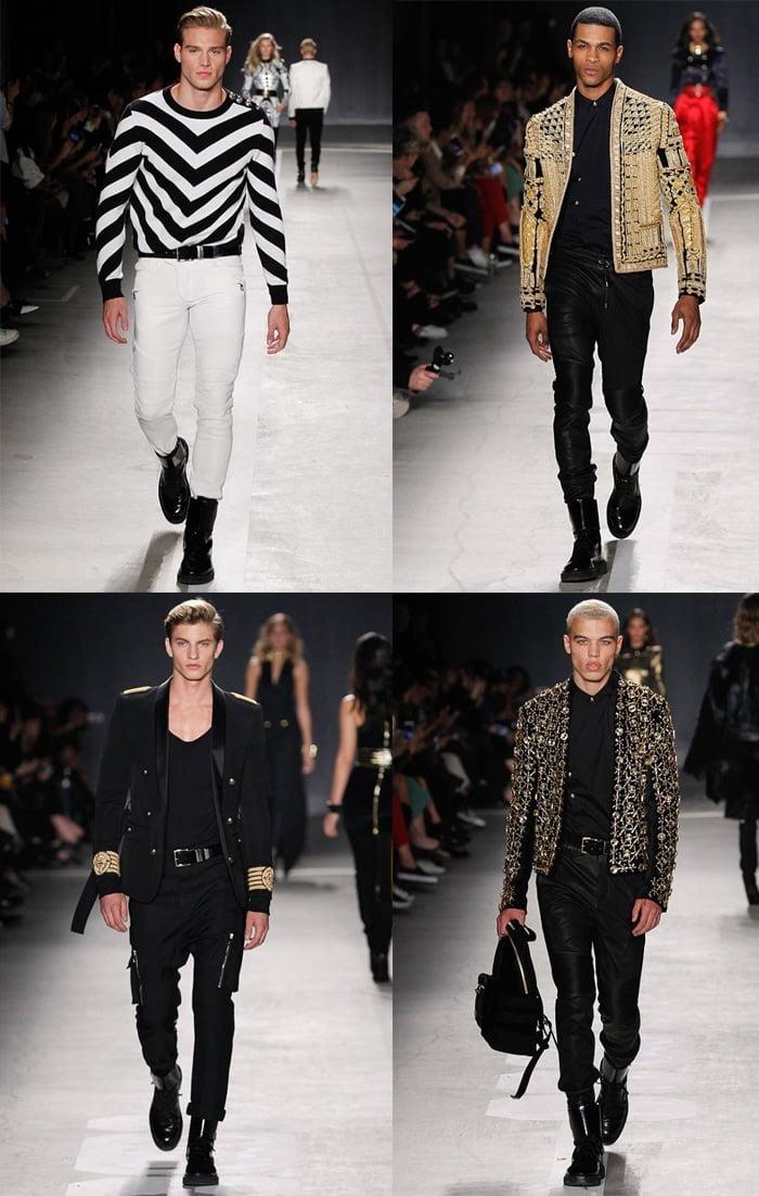A coleção masculina da H&M e Balmain Homens que se cuidam 4