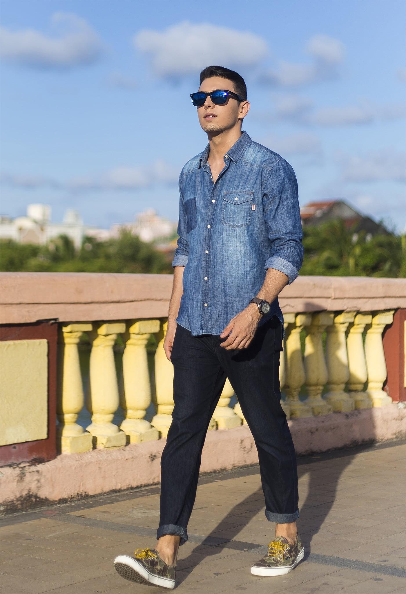Juan Alves Total Jeans Homens que se cuidam 1