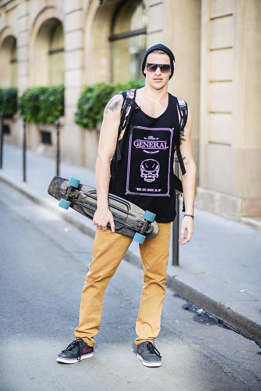Looks Inspirados nos Skatistas Homens que se cuidam 8