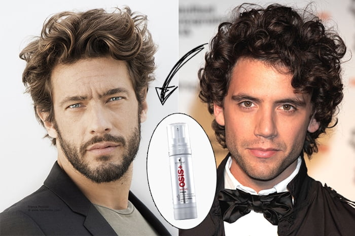 Modeladores de cabelo para cada tipo de penteado - ondulado sob controle Homens que se cuidam 2