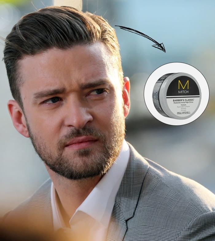 Modeladores de cabelo para cada tipo de penteado - super fixado com brilho Homens que se cuidam 1