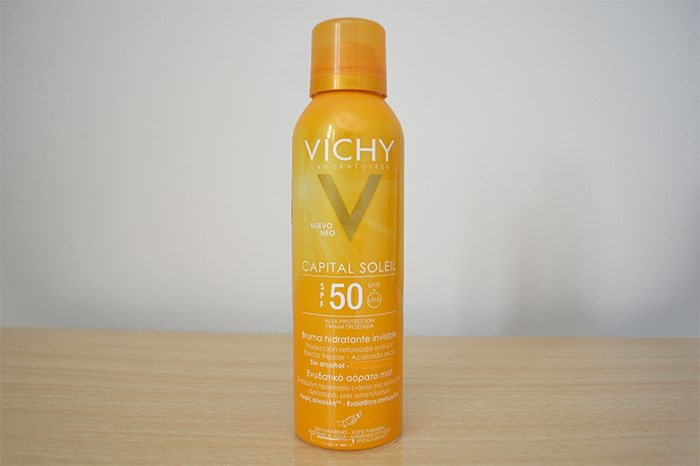 Protetor solar em Spray Capital Soleil da Vichy Homens que se cuidam 1