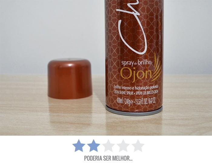 Spray de Brilho Ojon da Charming Homens que se cuidam 3