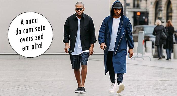 tendência camisa comprida oversized masculina homens que se cuidam 1 dest