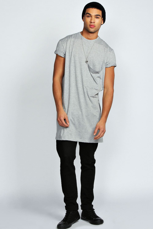 tendência camisa comprida oversized masculina homens que se cuidam 10