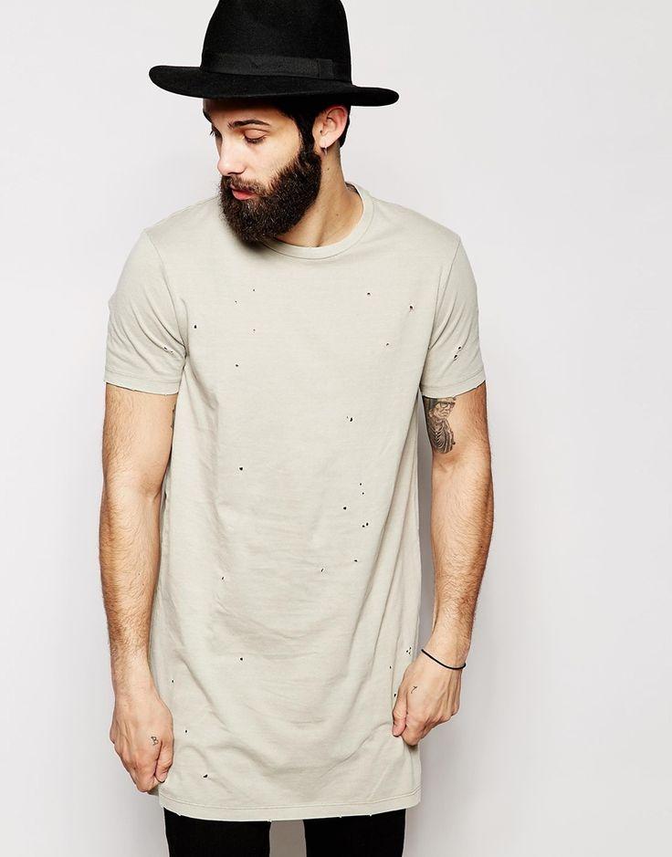 ccd58eb24 tendência camisa comprida oversized masculina homens que se cuidam 3