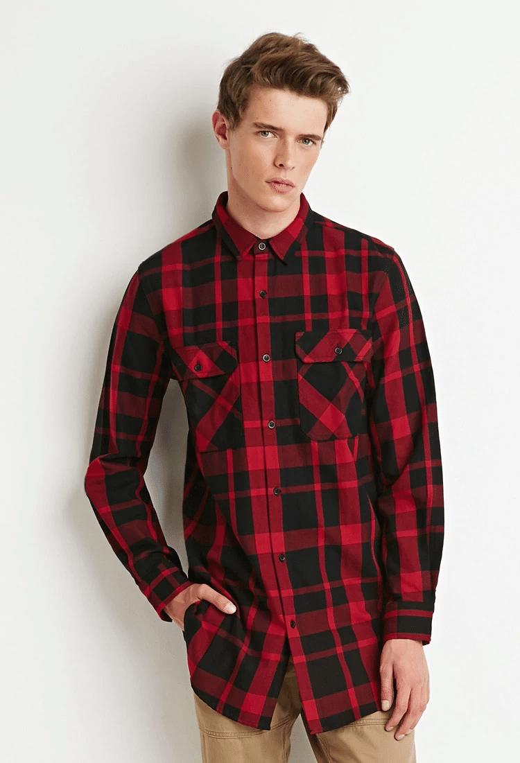 tendência camisa comprida oversized masculina homens que se cuidam 3