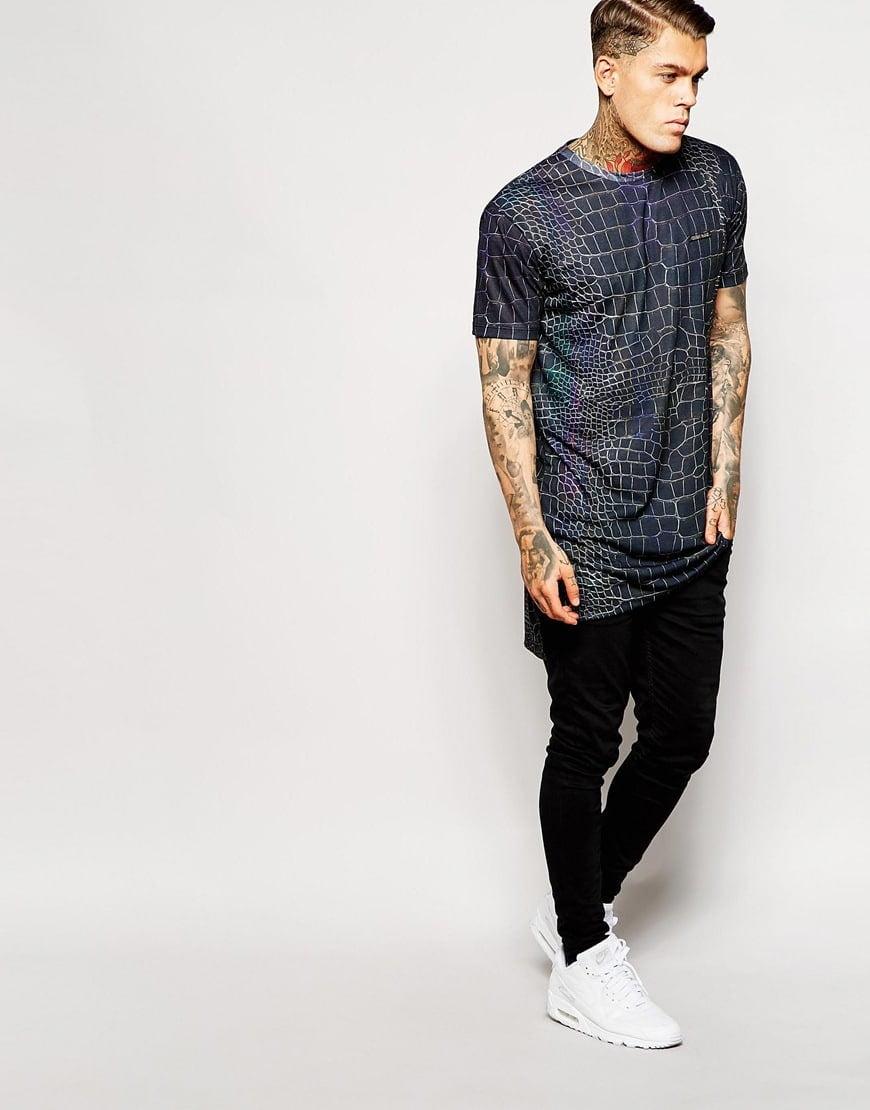 tendência camisa comprida oversized masculina homens que se cuidam 4
