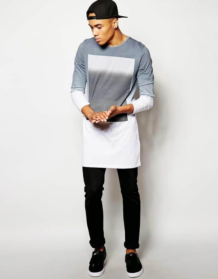 tendência camisa comprida oversized masculina homens que se cuidam 8 (2)
