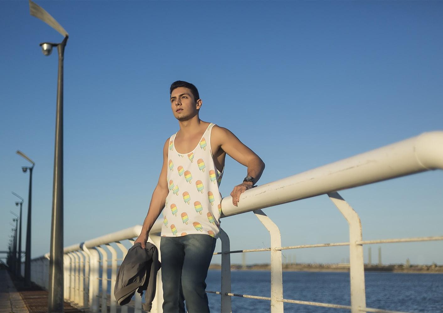 Estilo HQSC Regata divertida e look urbano Juan Alves 4