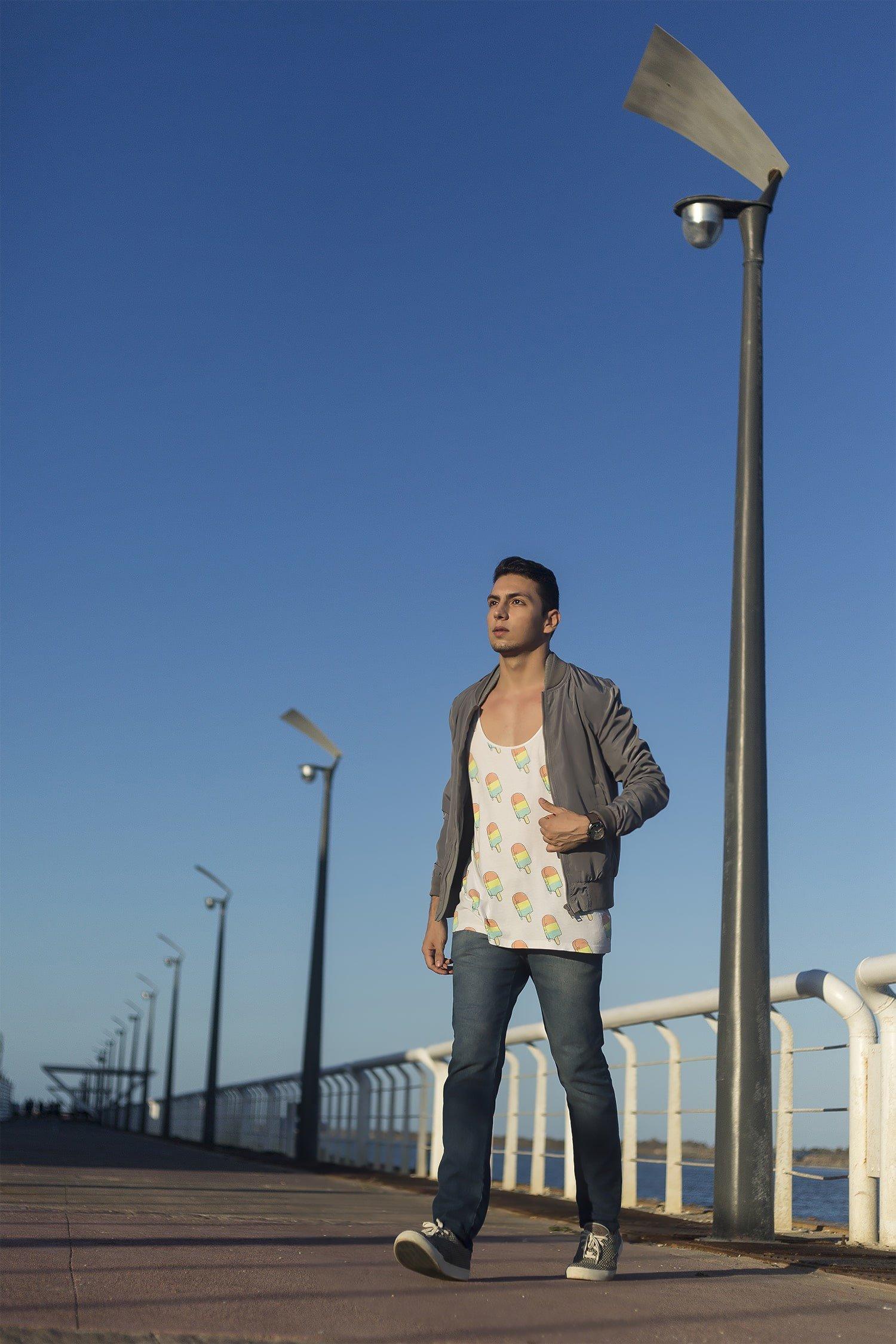 Estilo HQSC Regata divertida e look urbano Juan Alves 7
