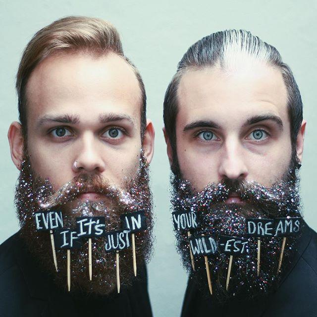 Barbas Inusitadas Homens que se cuidam 1
