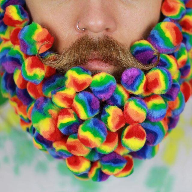 Barbas Inusitadas Homens que se cuidam 4