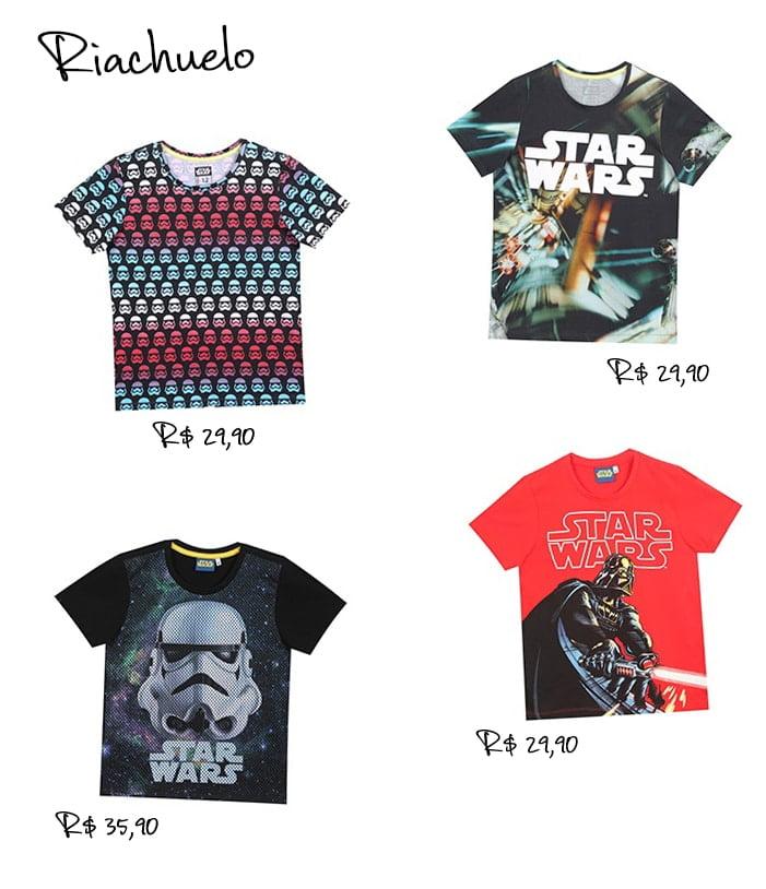 Coleção Riachuelo e Star Wars Homens que se cuidam