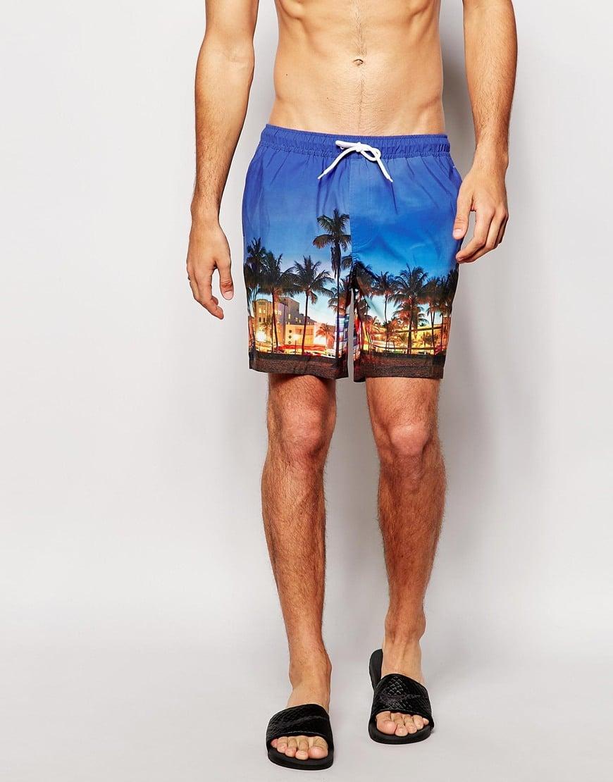 Shorts curtos para o Verão Homens que se cuidam 8