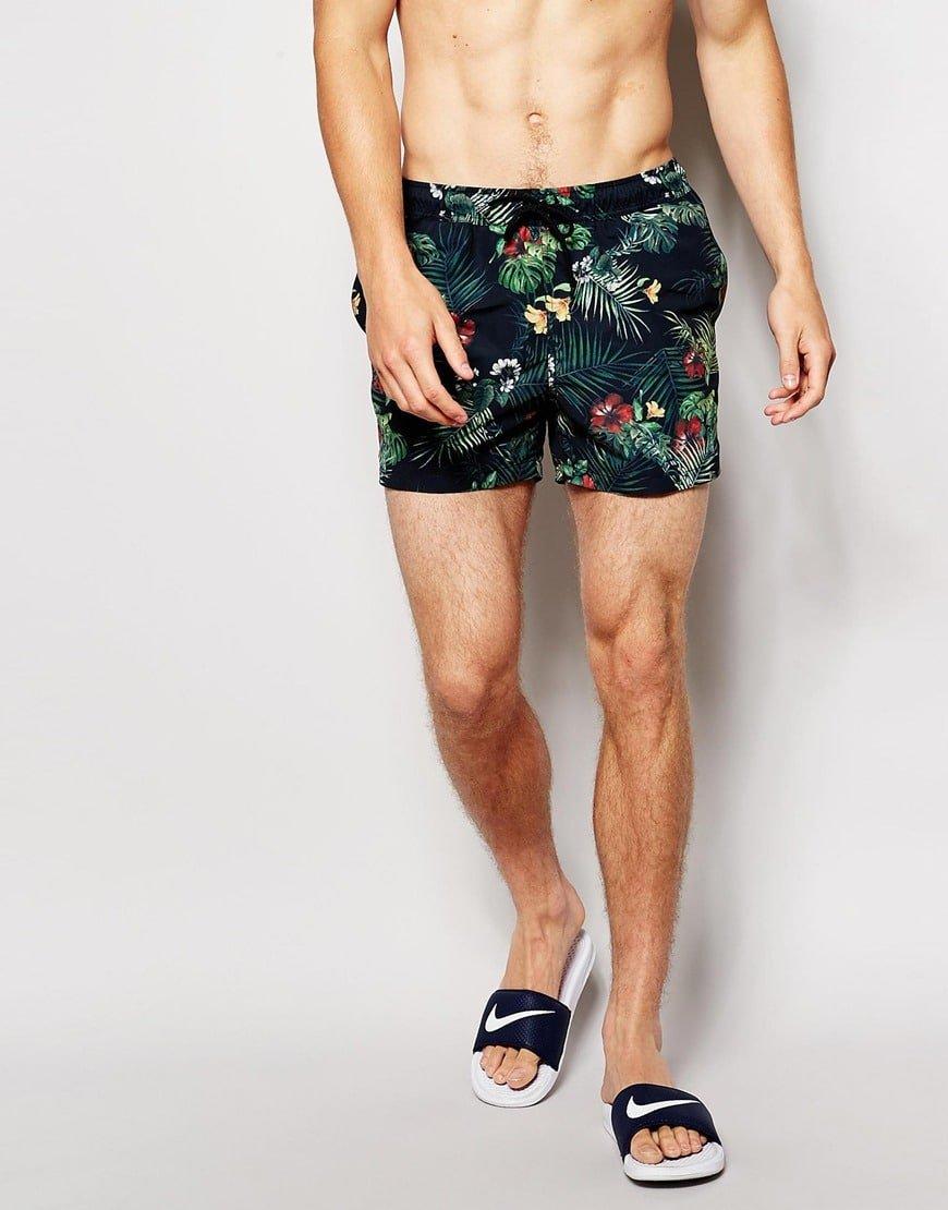 Shorts curtos para o Verão Homens que se cuidam 9