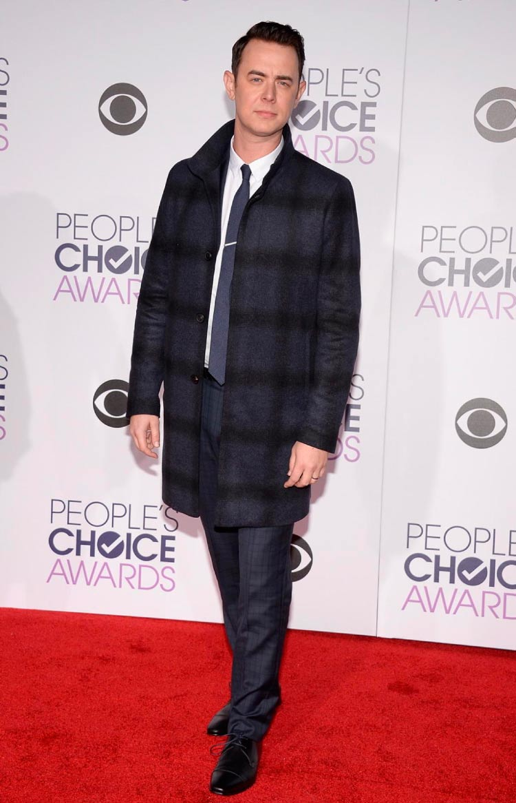 Colin Hanks Looks People's Choice Awards
