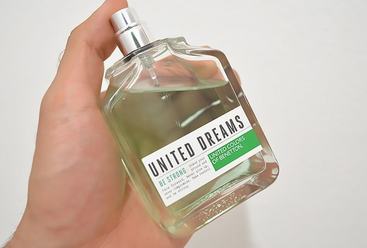 Perfume United Dreams Be Strong Homens que se cuidam 2