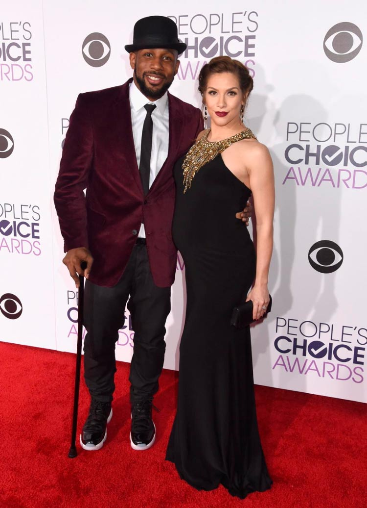 Stephen tWitch Boss Looks People's Choice Awards