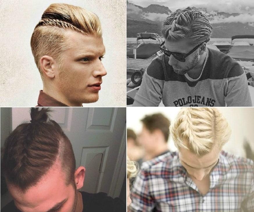 Trança no cabelo masculino Homens que se cuidam 6