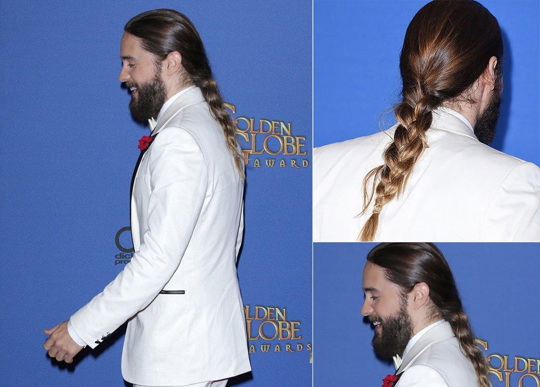 Trança no cabelo masculino Homens que se cuidam 7