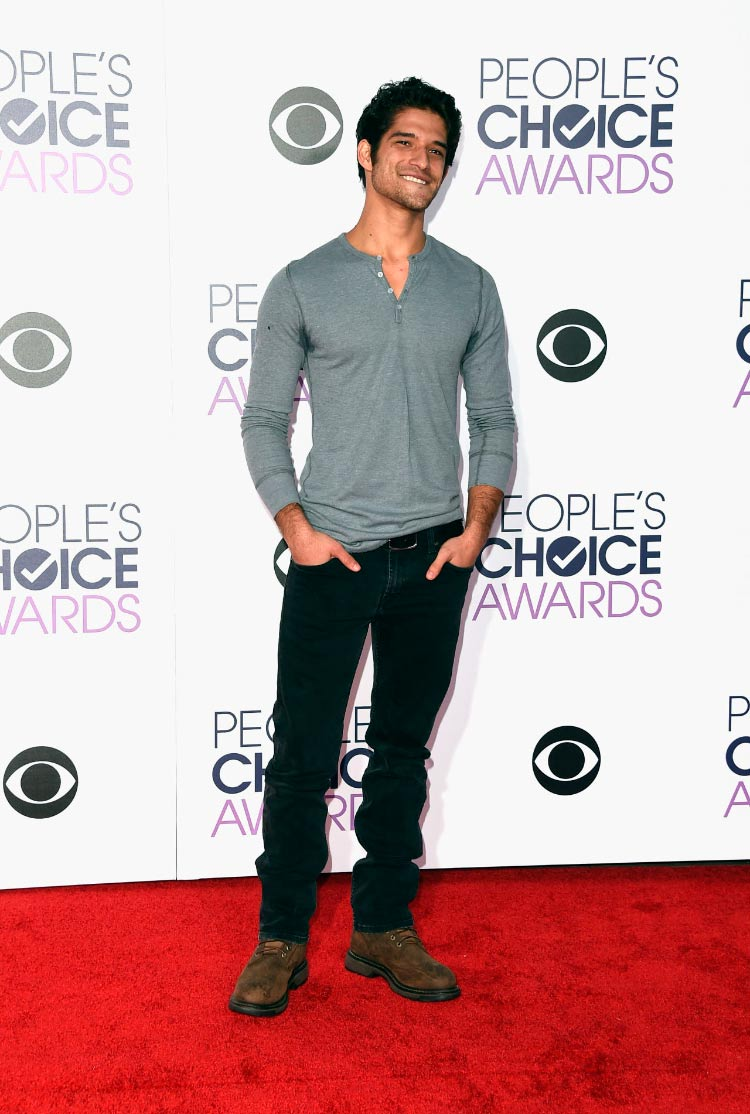 Tyler Posey Looks People's Choice Awards