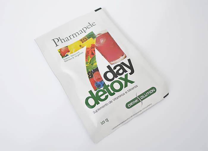 Detox Drink da Pharmapele Homens que se cuidam 2