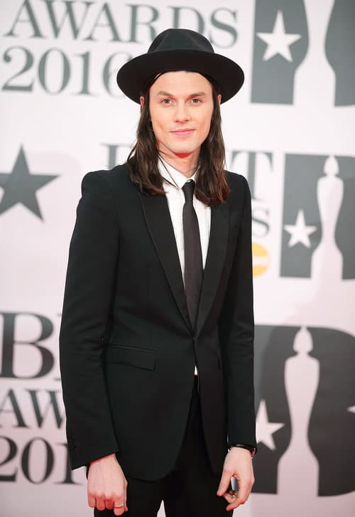 James Bay Brit Awards 2016 Homens que se cuidam