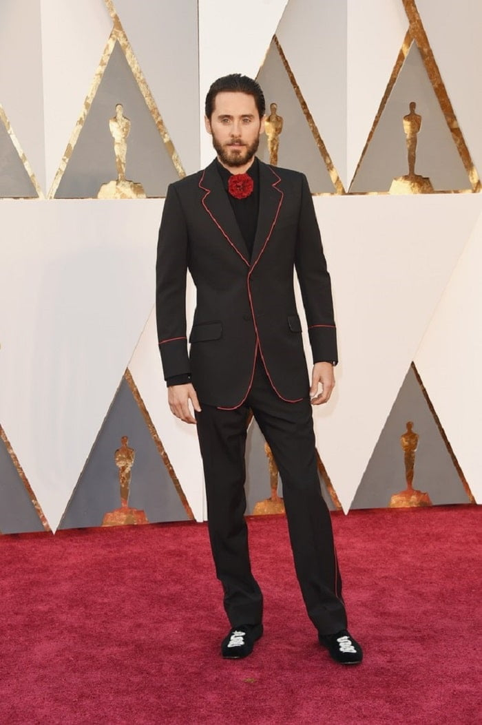 Jared Leto Looks Masculinos do Oscar 2016 Homens que se cuidam