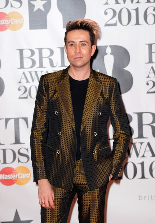 Nick Grimshaw Brit Awards 2016 Homens que se cuidam