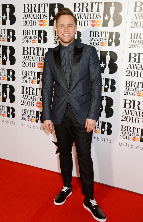 Olly Murs Brit Awards 2016 Homens que se cuidam
