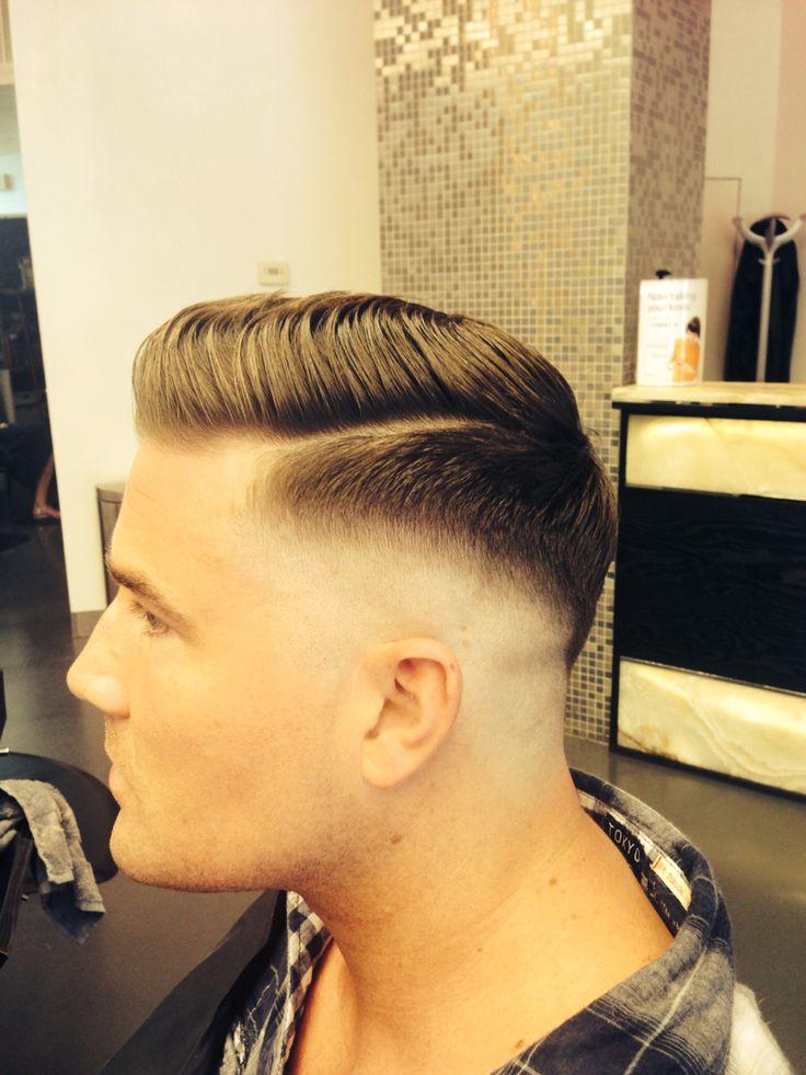 Razor Part o corte de cabelo masculino do momento Homens que se cuidam 10
