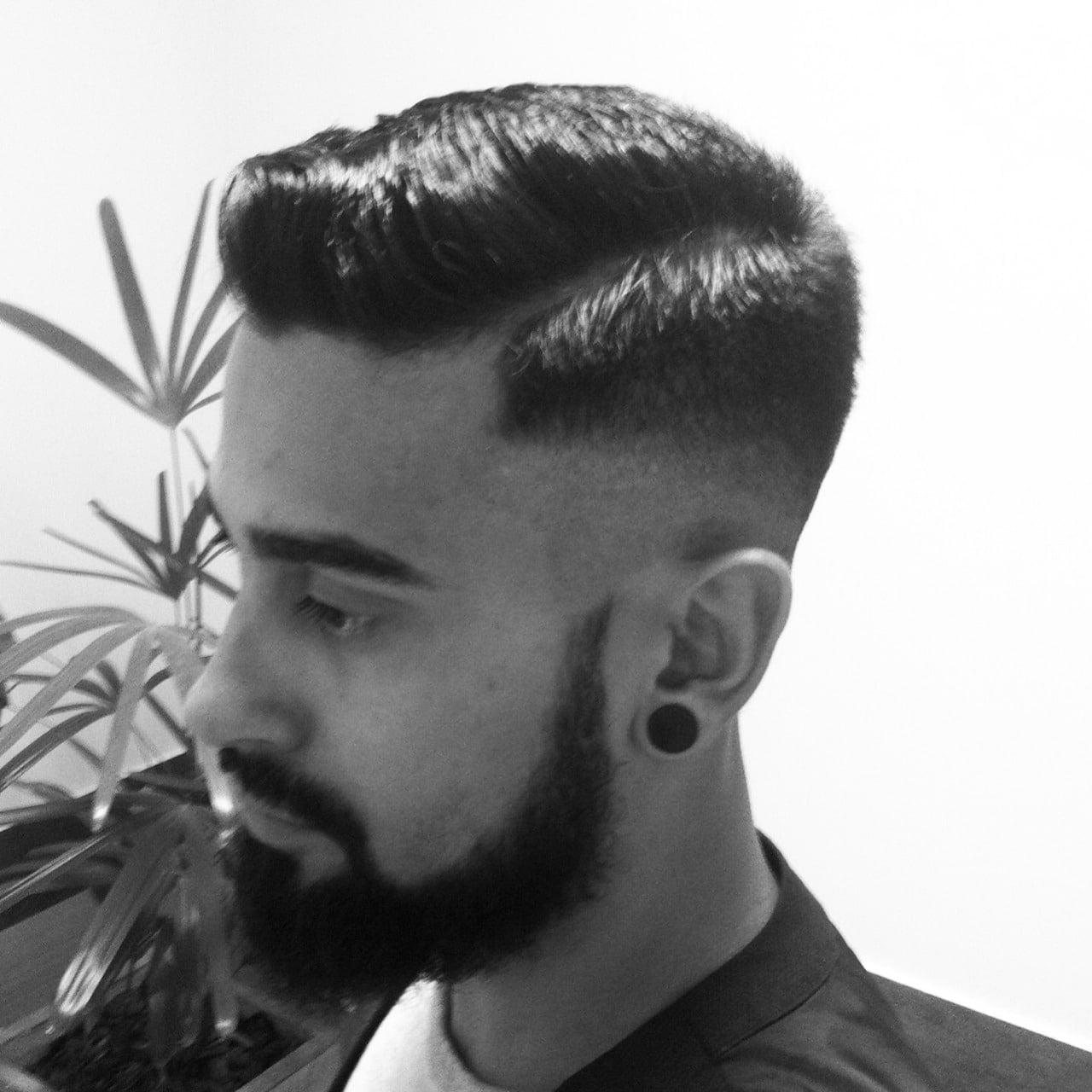 Razor Part o corte de cabelo masculino do momento Homens que se cuidam 12