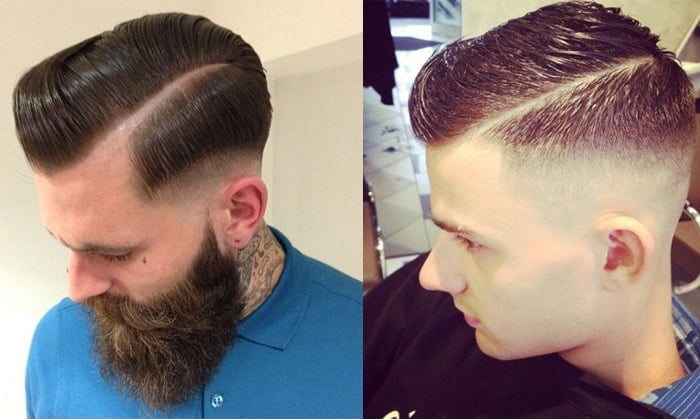 Razor Part o corte de cabelo masculino do momento Homens que se cuidam 2