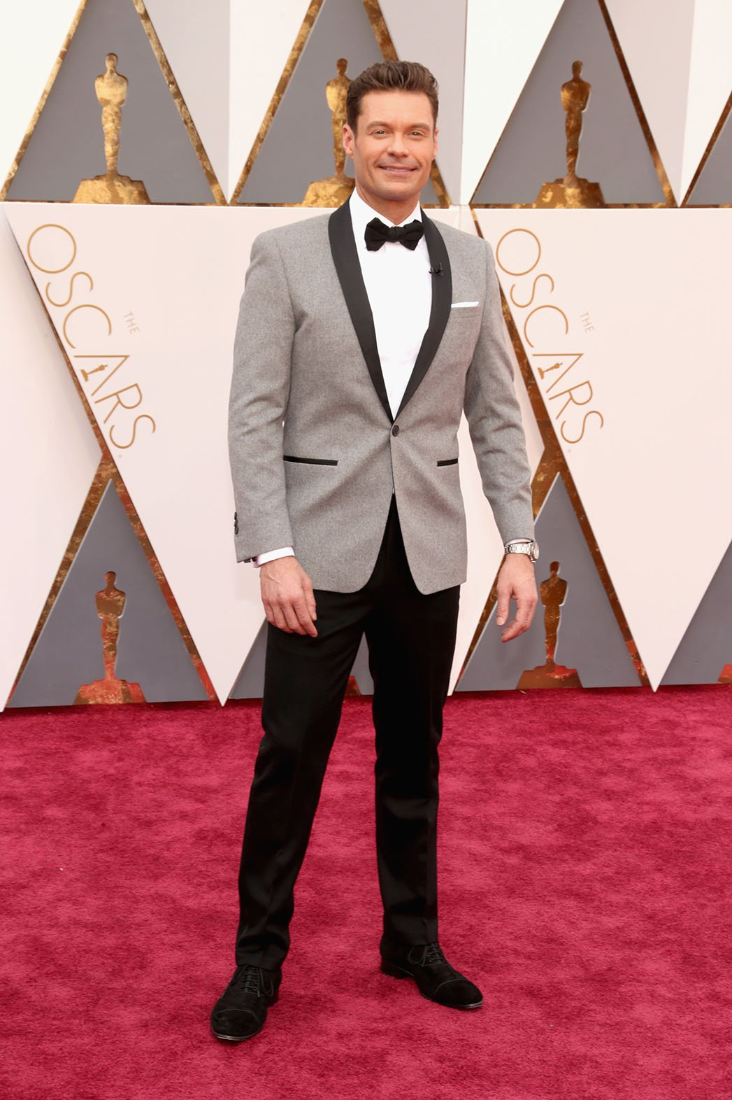 Ryan Seacrest Masculinos do Oscar 2016 Homens que se cuidam
