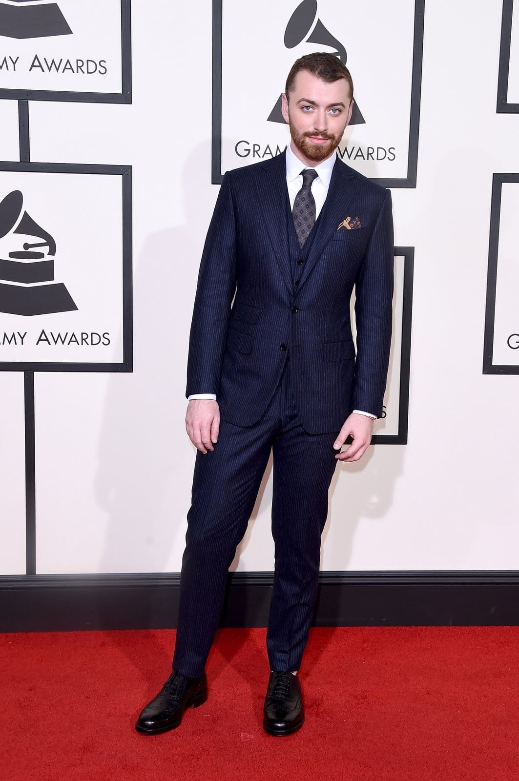 Sam Smith Homens que se cuidam Looks Grammy 2016