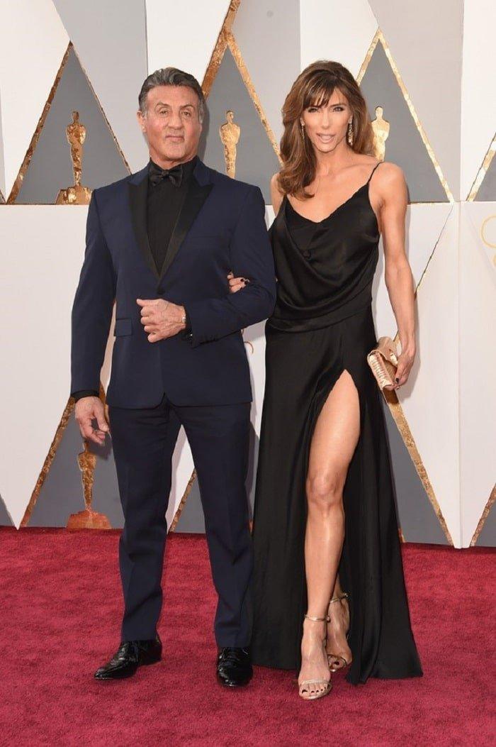 Sylvester Stallone 2 Looks Masculinos do Oscar 2016 Homens que se cuidam