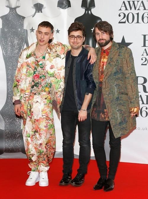 Years & Years Brit Awards 2016 Homens que se cuidam