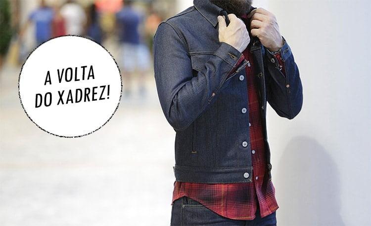 1 A Estampa Xadrez é a grande aposta para moda masculina no Inverno 2016 Homens que se cuidam