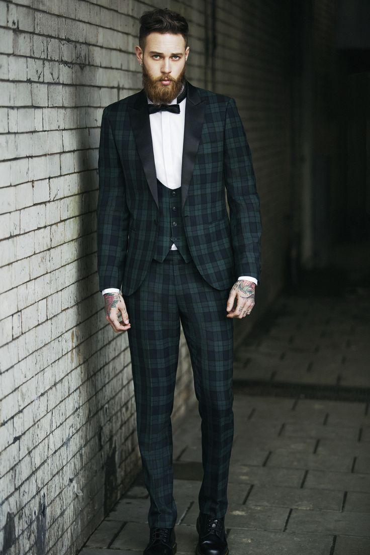 10 A Estampa Xadrez é a grande aposta para moda masculina no Inverno 2016 alfaiataria 4 Homens que se cuidam