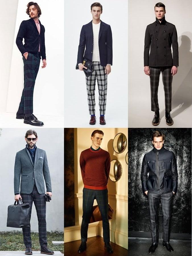 11 A Estampa Xadrez é a grande aposta para moda masculina no Inverno 2016 calças Homens que se cuidam
