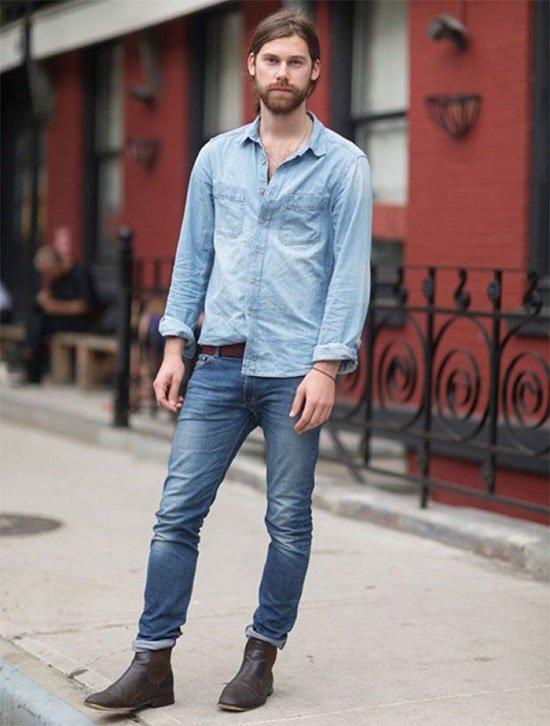 2 2 Como usar camisa jeans Dica 2B