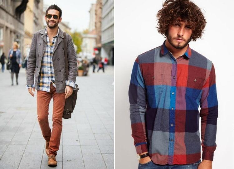 7 A Estampa Xadrez é a grande aposta para moda masculina no Inverno 2016 Homens que se cuidam 3