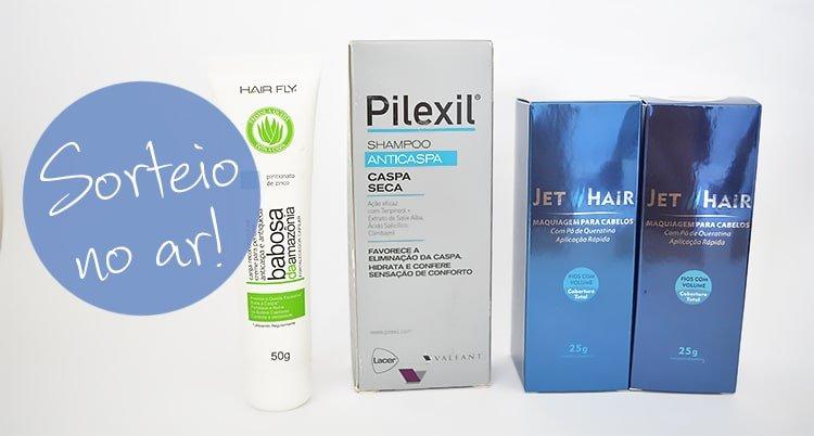 Sorteio Kit para cabelo antiqueda Homens que se cuidam