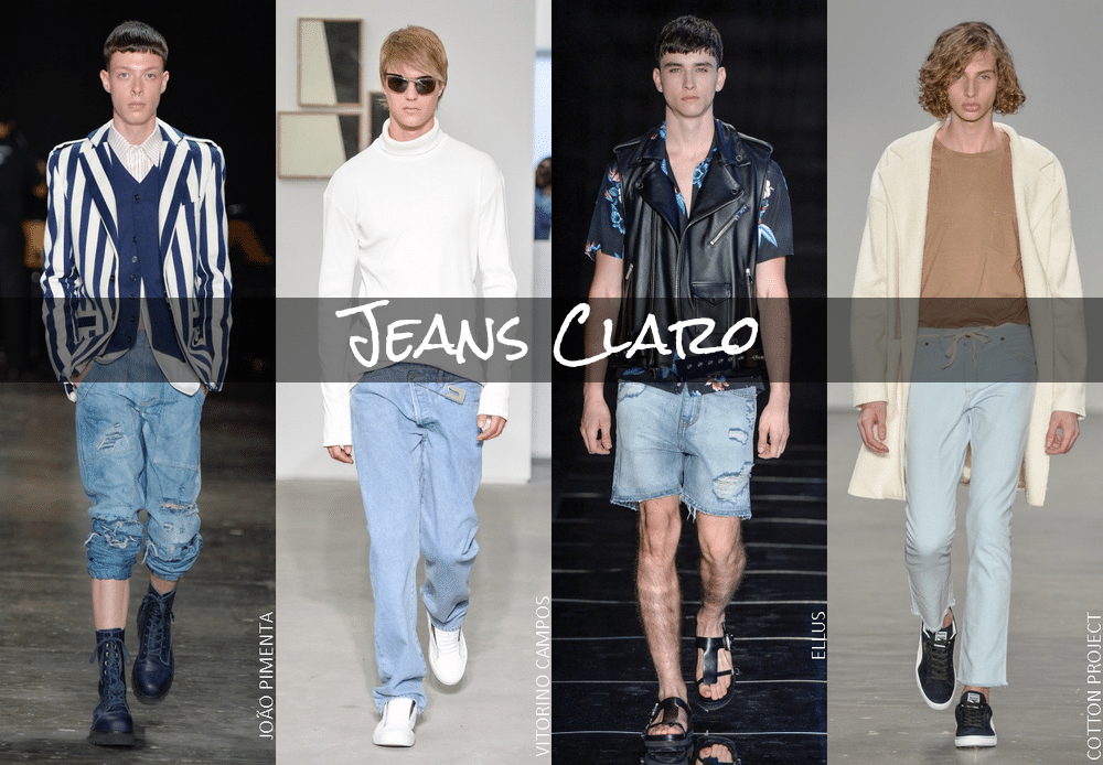 Jeans Claro - Resumo SPFW Verão 2017 - Homens Que Se Cuidam