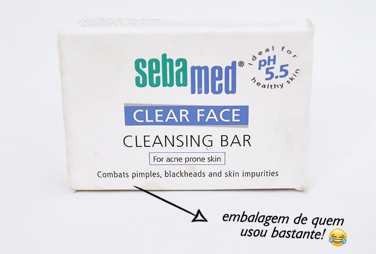 Cleansing bar da Sebamed Homens quese cuidam 1